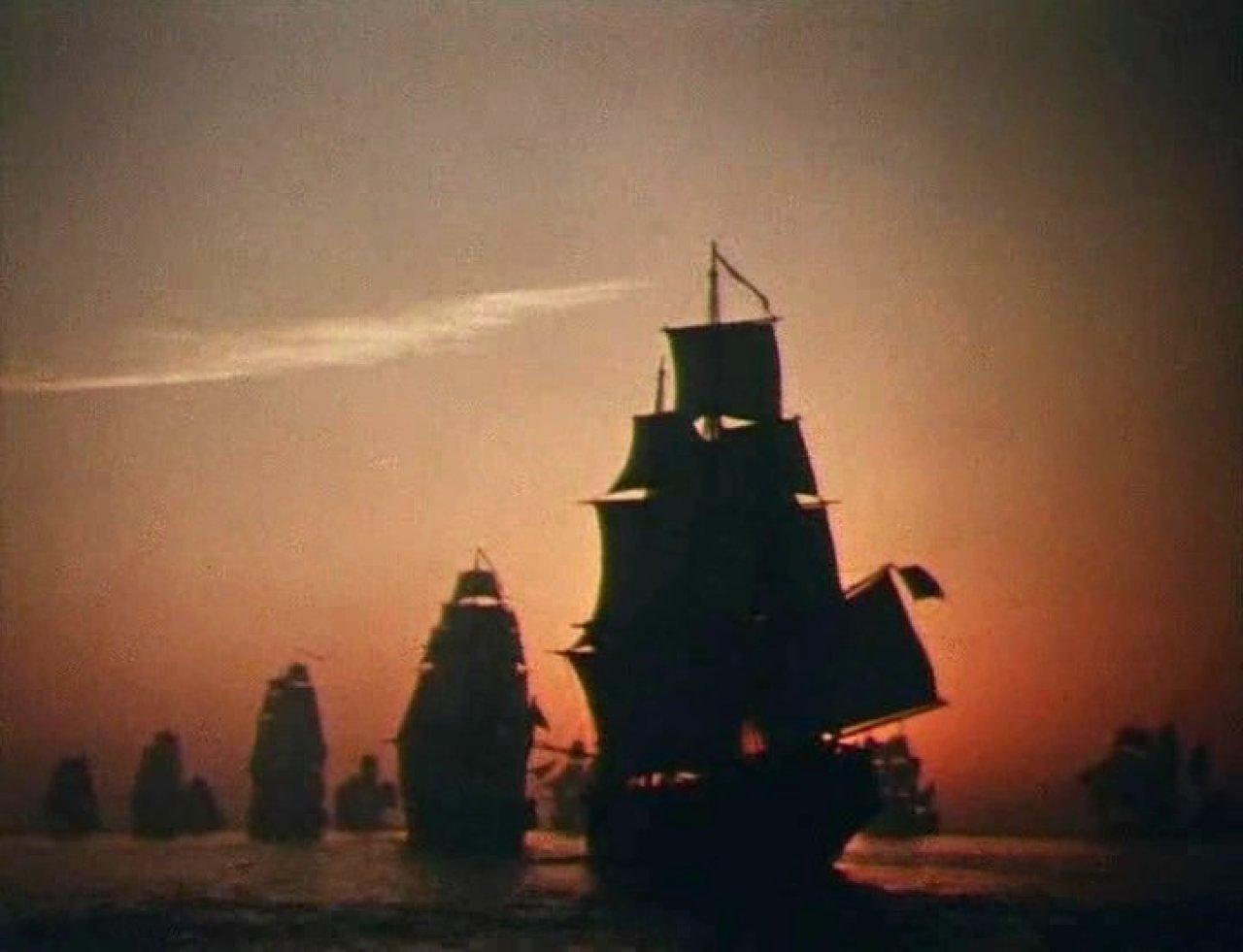 Корабли штурмуют бастионы