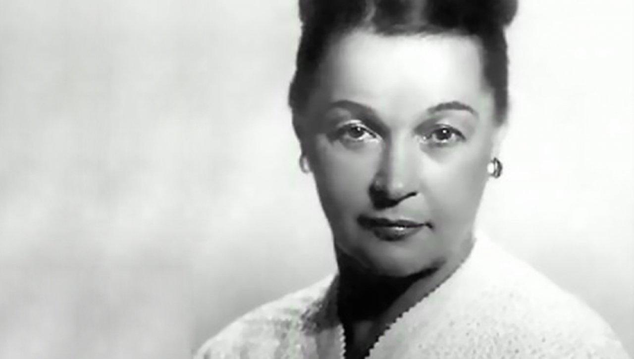 Вера Марецкая