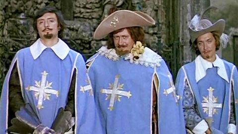 ДВОЙНОЙ ТЕСТ: Кто вы из героев фильма «Д`Артаньян и три мушкетёра»