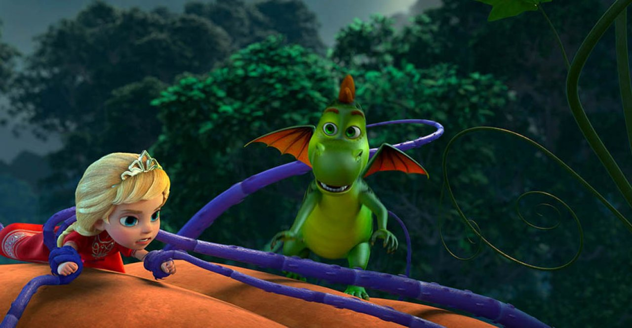 Принцесса и дракон